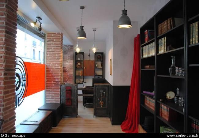 gamescape sortir paris trouvez une sortie originale et insolite sur paris. Black Bedroom Furniture Sets. Home Design Ideas